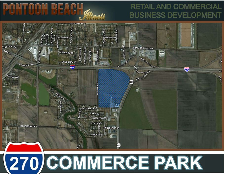 270 Commerce Park Aerial View